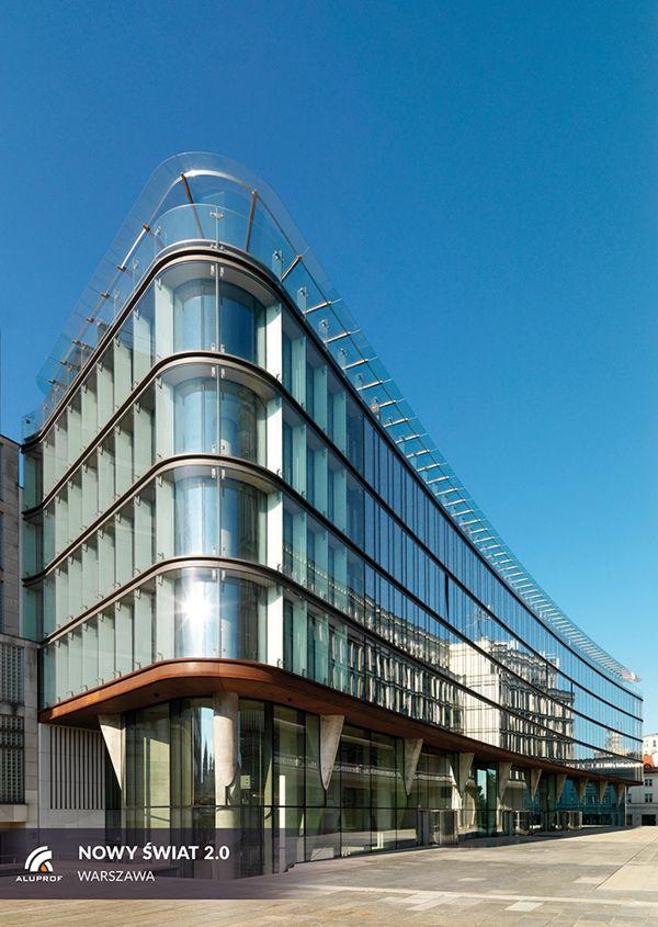 Nowoczesny śródmiejski biurowiec - Nowy Świat 2.0