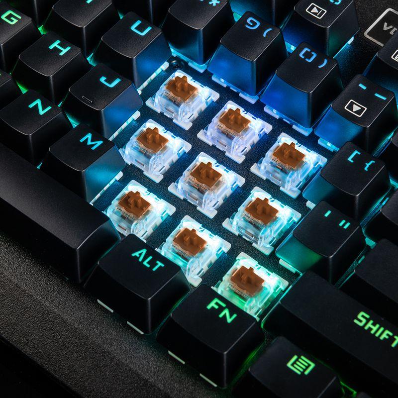 181127mode2 - MODECOM wprowadza do sprzedaży następcę popularnej klawiatury mechanicznej z podświetleniem RGB