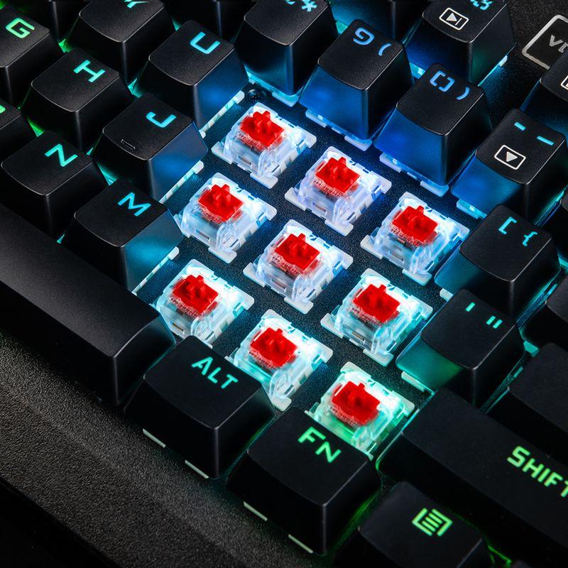 181127mode3 - MODECOM wprowadza do sprzedaży następcę popularnej klawiatury mechanicznej z podświetleniem RGB