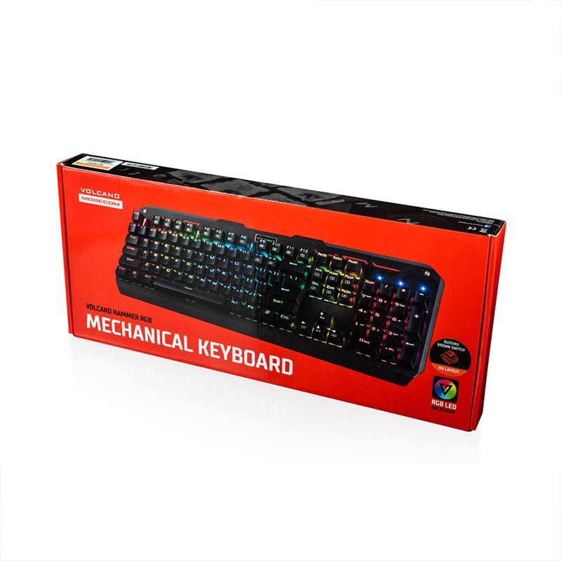 181127mode5 - MODECOM wprowadza do sprzedaży następcę popularnej klawiatury mechanicznej z podświetleniem RGB