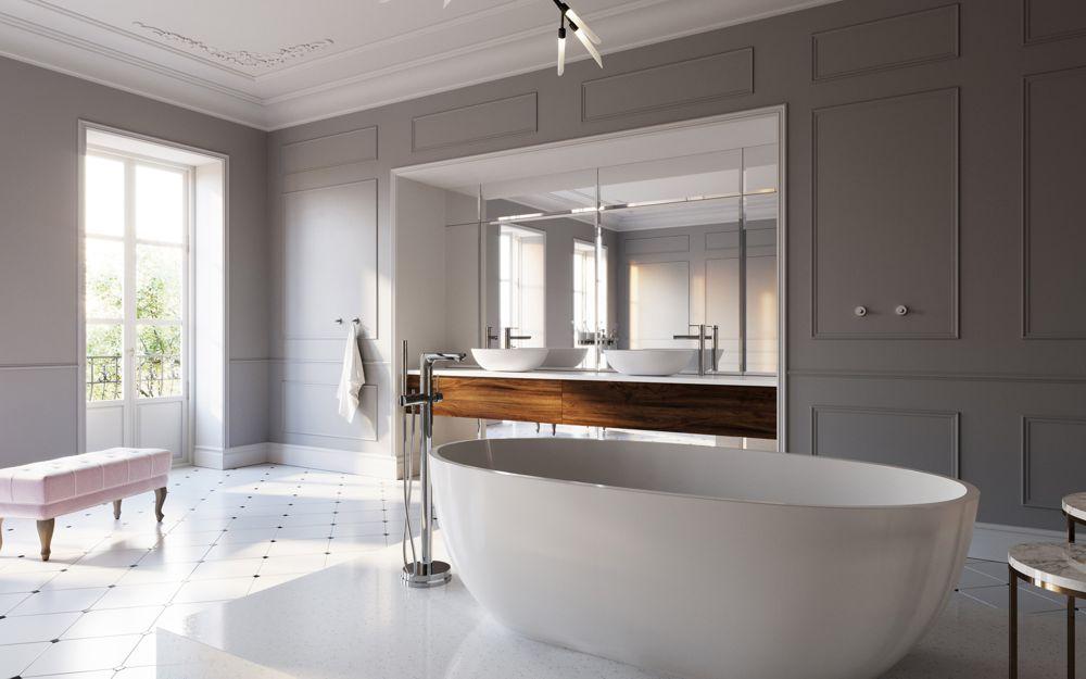 190107ferro1 - Francuski eklektyzm w salonie kąpielowym