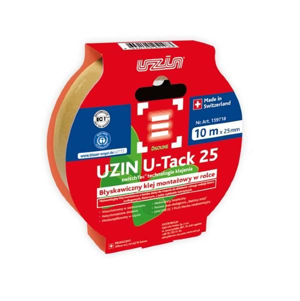 Nowość! UZIN U-Tack 25 - przyklejaj i montuj jak profesjonalista